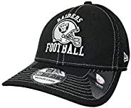 New Era 奥克兰突袭者队 39Thirty 可调式帽 NFL 橄榄球曲线帽 棒球帽