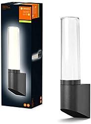 LEDVANCE LED 壁灯和吸顶灯,火炬外观灯,暖白(3000K),98毫米 x 68毫米 x 331毫米,ENDURA STYLE LANTERN FLARE WALL