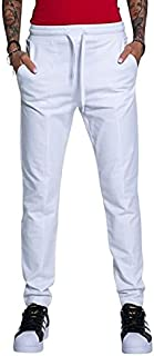 Moschino 女士运动裤_闪亮机构标志印花和背面金属效果心形。 休闲裤