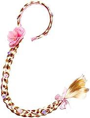 长发公主发片长 73.66 厘米角色扮演编织假发女孩公主装扮配饰(Rapunzel 发带)