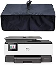 CYGQ 防静电防水尼龙织物打印机防尘保护套兼容 HP OfficeJet Pro 8025/8035 / 9015 一体式无线打印机