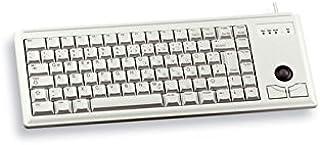 Cherry G84-4400LUBDE-0 轨迹球紧凑键盘 - 浅灰色