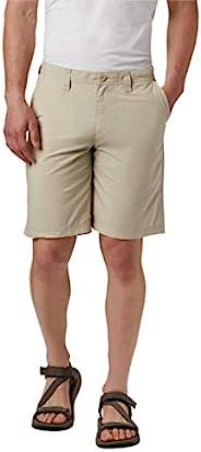 Columbia 哥伦比亚 男式水洗短裤,棉质,经典款 棕色(Fossil) 44W x 10L