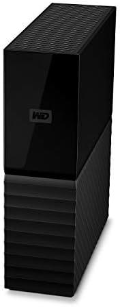 Western Digital My Book 台式机外接硬盘 USB 3.0 WDBBGB0120HBK-NESN 12TB