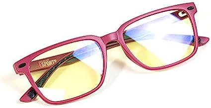 Numskull 电子运动粉色儿童紫外线和蓝光阻挡眼镜 - 防眩光,防* - 适用于电脑和视频游戏的*保护(Xbox 系列 X//)