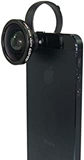 Lumen 广角镜头 [0.4倍] 玻璃制品 [ 夹子固定式 ] iPhone6、XperiaZ3等厚度20mm以下的智能手机适用 [ 黑色 ] LM-SMSWIDE-BK