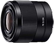 Sony 索尼 SEL28F20 E卡口全画幅28毫米F2.0定焦镜头
