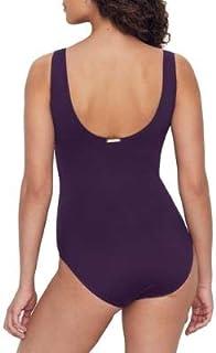 Ralph Lauren 拉夫劳伦 女式沙滩俱乐部褶皱连衣裙 茄紫色 4