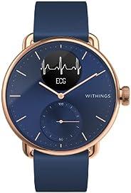 Withings 男女通用成人智能手表 混合智能手表 带 EKG 心率传感器和氧化剂