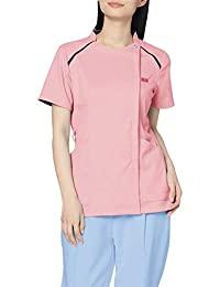 [拉链俱乐部] 女士 女性用 白衣 磨砂 * 拉链磨砂 肩针织 苗条轮廓 2 7068SC
