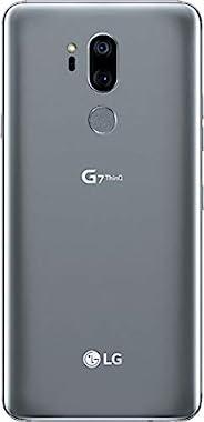 LG G7 ThinQ GSM 解锁 LGG710 w/ 64GB 内存手机 4G LTE - 美国版 - 铂金灰色