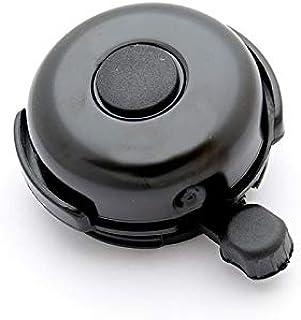 SIMSON 自行车铃 混合 黑色 *保护 铁制 结实 钢铃 高耐久性 透明灯 020160