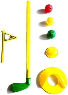 Greenbrier International 迷你高尔夫玩具套装,适用于室内、室外和活动,适合初学者高尔夫球手,配有俱乐部、球座和高尔夫球