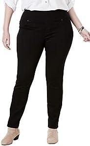 LEE Plus-size Sculpting Slim Fit Slim Leg Pull on Jean