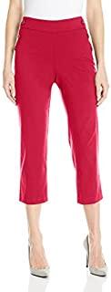 Briggs York 女式超弹力套头七分裤水手纽扣细节