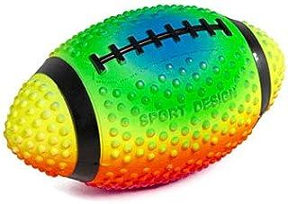 练习足球霓虹色 9 英寸(约 22.9 厘米)尖头用于抓握控制,由软橡胶填充空气