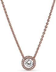 Pandora 潘多拉 女式银吊坠项链 – 386240CZ-45