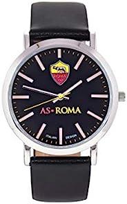 AS Roma Tidy 中性成人手表,黑色,均码