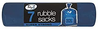 Tidyz 7 Rubble Sacks - Super Strong - 蓝色