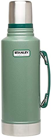 Stanley 经典真空水壶,Hammertone Green,2 QT
