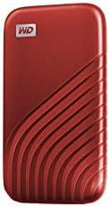 Western Digital 西部数据 2TB My Passport SSD 外置便携式硬盘 红色 高达1050 MB/s WDBAGF0020BRD-WESN