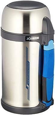 ZOJIRUSHI 象印 水壶 不锈钢 带水杯&把手 广口 轻量 1.3L SF-CC1