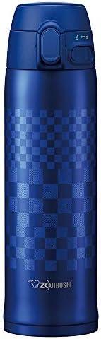 Zojirushi 象印 不锈钢真空保温杯,市松蓝,16盎司(约473.12 毫升)