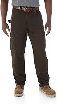 Wrangler Riggs 工作服男式游侠裤 深棕色 31W x 32L