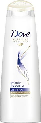 Dove 多芬 Nutritive Solutions 密集修护洗发露 针对受损发质 带有角蛋白修复系统,6件装(6 x 250ml)