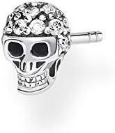 Thomas Sabo 女士单件耳钉骷髅头,925纯银