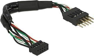 DeLock 41977 数据线 USB 2.0 柱子 2.0 毫米 柱子 2.54 毫米 12 厘米 黑色