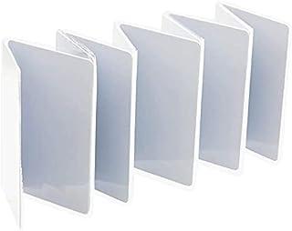 Gialer 10 包 MIFARE 1 经典 1K 兼容射频识别智能卡 13.56MHz 14443A 塑料空白白卡 酒店钥匙卡 访问控制卡 可在大多数桌面照片 IC 卡打印机上打印