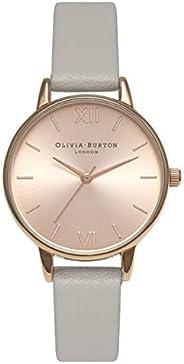 Olivia Burton 女士指针式石英手表 皮革表带 OB15MD46
