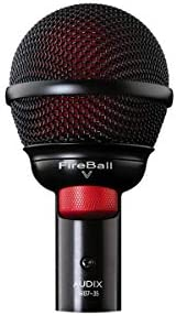 Audix Fireball V 口琴 Beatbox 麦克风 Fire Ball V 免费 20 英尺电缆