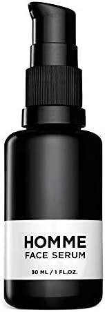HOMME 男士面部精华 - 氨基酸注入面部护理* - *剂和*特性 - 纯素 - 1 液体盎司(约 29.6 毫升)