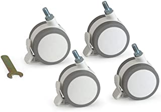 HOPPL 脚轮(4个套装) 白色 BB-CAS01