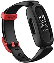 Fitbit Ace 3 活动追踪器,适用于儿童,带动画手表面部,电池续航时间长达8天,防水可达50米