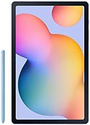 Samsung 三星 Galaxy Tab S6 Lite 10.4 英寸,128GB WiFi 平板电脑 Angora 蓝色 - SM-P610NZBEXAR - 包括 S 笔