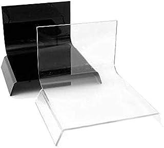 ALZO Small Riser Platform Kit 射击桌黑色和透明,2 件套用于产品照片