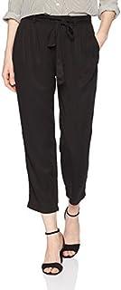 Three Dots 女式全天候斜纹宽松长裤