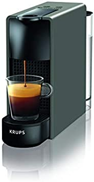 Krups 克鲁伯 Nespresso XN1108 Essenza Mini 胶囊咖啡机 0.6升,1260W,黑色