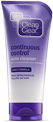 Clean & Clear 祛痘持续控制 5 盎司(148 毫升)(3