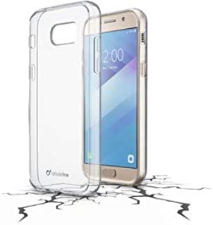 Cellularline CLEARDUOGALA517T Duo 手机壳,适用于三星 Galaxy A5(2017) - 透明