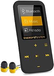 Energy Sistem MP4 触摸蓝牙(MP4 播放器带蓝牙,16 GB,触摸按钮,FM 收音机,microSD 读卡器) - 琥珀