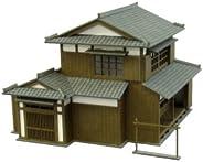 SANKEI 1/150 角落的立体模型系列 民家B 纸工艺品