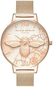 Olivia Burton 抽象花卉女式手表 OB16VM26