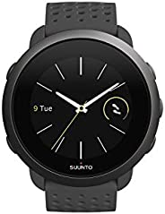 Suunto 3 - Gen.2 中性多功能手表不锈钢/聚酰胺彩色显示屏 灰色 Einheitsgröße