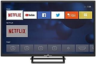 Smart-Tech SMT32N30HV1U1B1 80 厘米(32 英寸)LED 电视 Smart TV (HD,Netflix,YouTube,橙色,浏览器)黑色