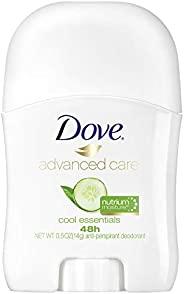 Dove 多芬 高级护理旅行装止汗香体膏,凉爽必备,48 小时保护和柔软舒适的腋下,0.5 盎司,14克,36 支装