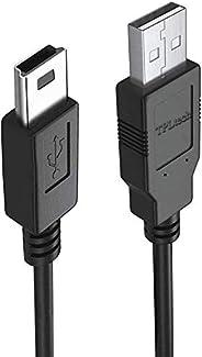 TPLTECH 迷你 USB 线替换件 适用于 Blue Yeti USB 麦克风遮光版,蓝色雪球 iCE USB 麦克风麦克风迷你 B 电缆